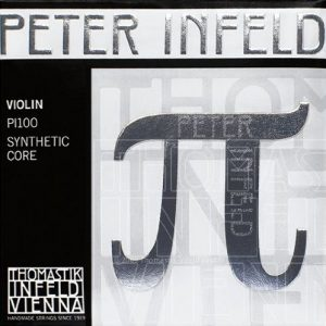 Thomastik Peter Infeld 4/4 Violin Strings Set with Platinum E
